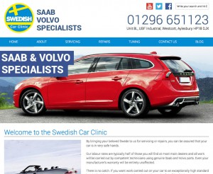 Swedish Car Clinic new website