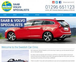 Swedish Car Clinic new website